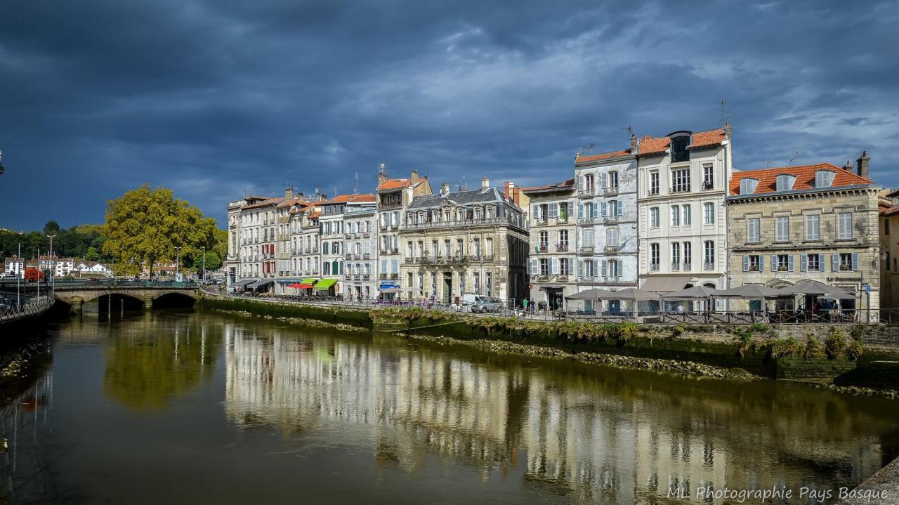 Bayonne, quai des Corsaires