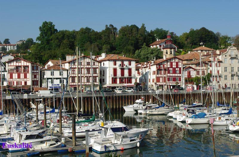 Ciboure, port de Larraldenia