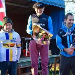 Ciclo cross Hendaye - Podium
